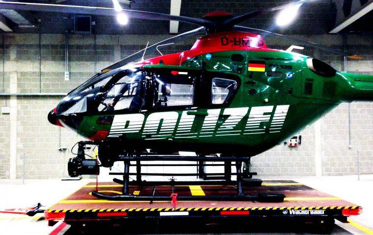 Reparaturlackierung SoniLACK – Polizeihubschrauber